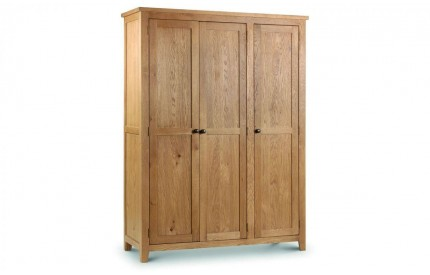 Marlborough 3 Door Wardrobe - Solid Oak