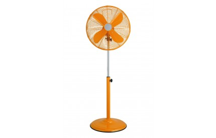 Adjustable Floor Standing Fan Orange