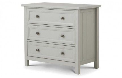Maine 3 Drawer Wide Chest of Drawers