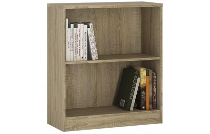 4 You Low Wide Bookcase in Sonama Oak