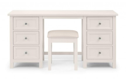 Maine Dressing Table - Pure White