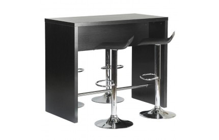 Designa Bar Table Black Ash