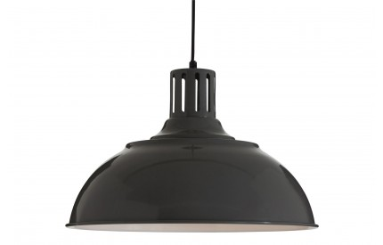 Brook Pendant Light Metal Grey