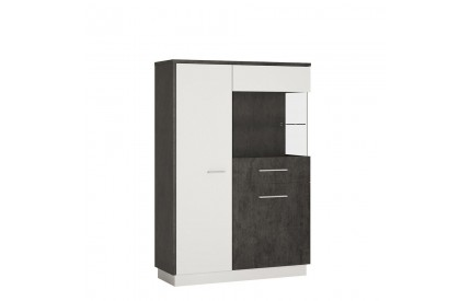 Zingaro Low Display Cabinet (RH)
