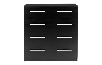 Designa 2+3 Chest Of Drawers Black