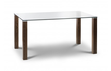 Cayman Glass Top Dining Table