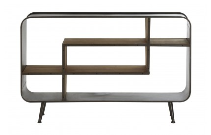 Trinity Contemporary Curved Shelving Sideboard