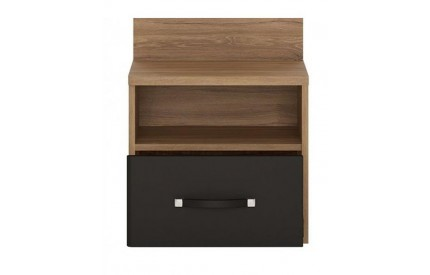 Monaco 1 Drawer Bedside (LH)