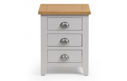 Richmond 3 Drawer Bedside