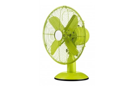 Desk Fan 3 Speeds Lime Green