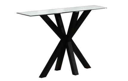 Primary Gloss Console Table Black