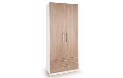 Huston 2 Door 2 Drawer Wardrobe
