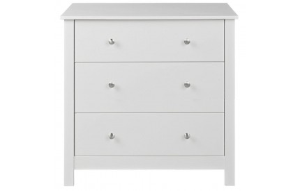 Florence 3 Drawer Chest White
