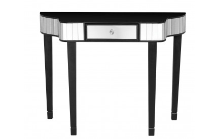 Clavier Console Table Mirror Black