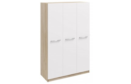Momo 3 Door Wardrobe White