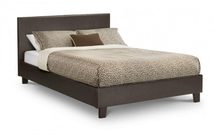 Cosmo Leather Bed