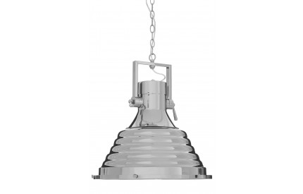 Lexwork Pendant Light Nickel / Glass Large