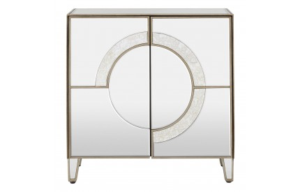 Buckingham Townhouse 2 Door Mirrored Sideboard