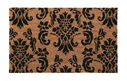 Damask Doormat PVC Backed Coir