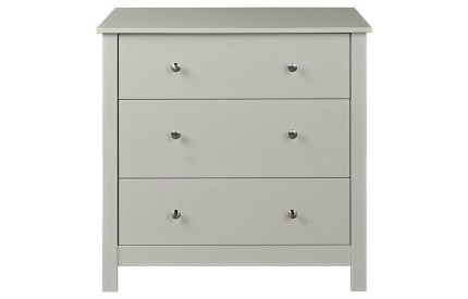 Florence 3 Drawer Chest Grey
