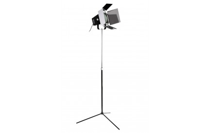 Spotlight Floor Lamp Black EU Plug
