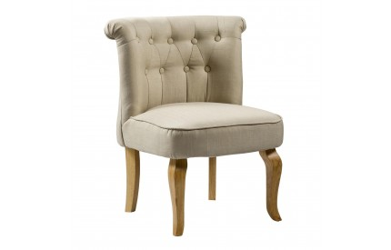 Bridgestone Fabric Chair Beige