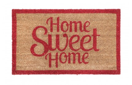 Home Sweet Home Doormat PVC Backed Coir
