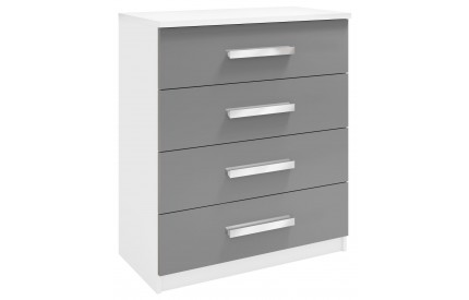 Ritza 4 Drawer Chest Grey