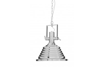 Lexwork Pendant Light Chrome/Glass Medium