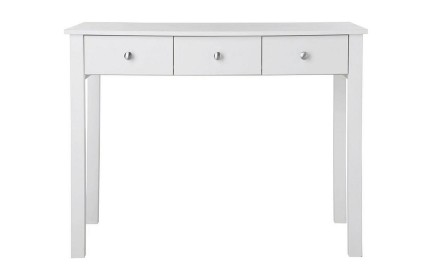Florence 3 Drawer Dressing Table White