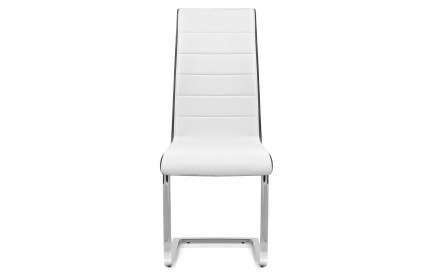 Black/White Piping Dining Chair