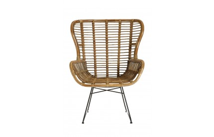 Manado Chair Kubu Rattan / Iron