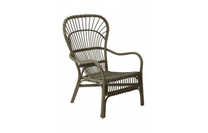 Havana Relax Chair Rattan Grey