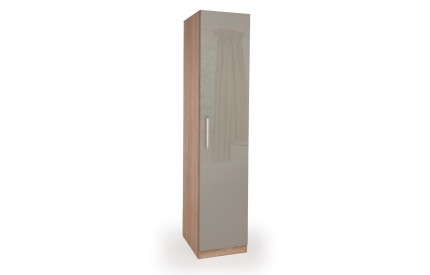 Rosemary High Gloss 1 Door Wardrobe