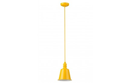 Pagoda Pendant Light Yellow