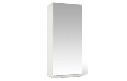 Shino Full Mirror 2 Door Wardrobe