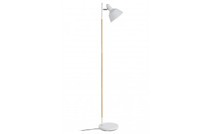 Ryan Floor Lamp Wood / Metal White