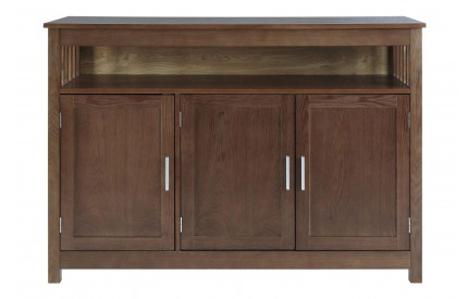 Helda 3 Door Sideboard Walnut