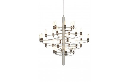 Lexwork Chandelier Small / 30 Bulbs Chrome