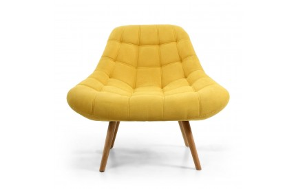 Shell Sunny Yellow Armchair