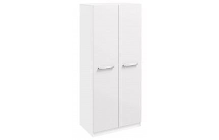 Span 2 Door Wardrobe High Gloss White