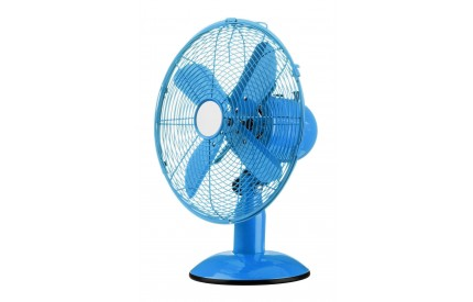 Desk Fan 3 Speeds Blue