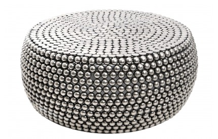 Knights Coffee Table Beaded Iron