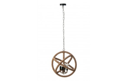 Juniper Ceiling Light Jute Rope UK Fitting