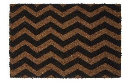 Chevron Doormat PVC Backed Coir