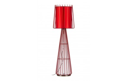 Aria Floor Lamp Red