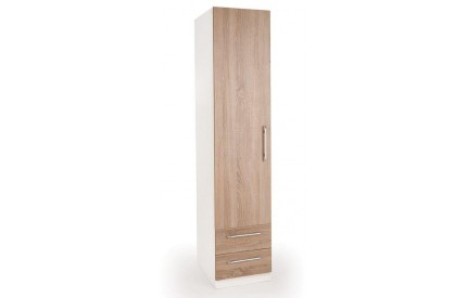 Huston 1 Door 2 Drawer Wardrobe