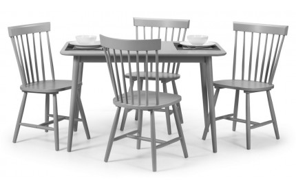 Contemporary Grey Dining Set
