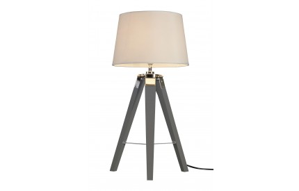 Bailey Table Lamp Grey / Tripod