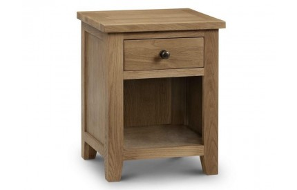 Marlborough 1 Drawer Bedside Assembled